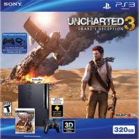 Sony PS3 320 GB Uncharted 3: Drake ve #39;s Deception paketi